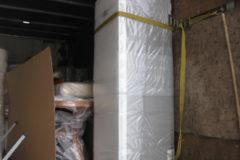Транспортировка двухметрового холодильника в вертикальном положении